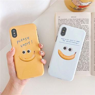 Banana smile iphone case