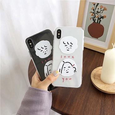 Love you face iphone case