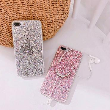 Glitter with stand iphone case
