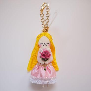 オーロラ姫 ドールチャーム(Sleeping Beauty doll charm)