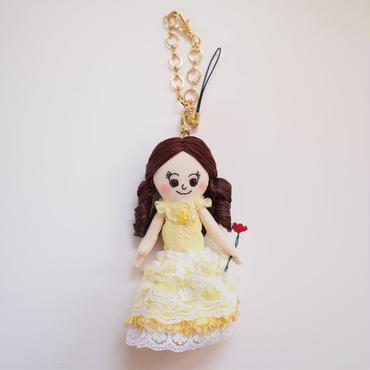美女と野獣 ベル ドールチャーム( Beauty and the Beast Bell doll charm)