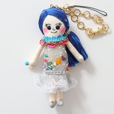 誕生石(12月ターコイズ)ドールチャーム/Berthstone Dolly Charm(December, Turquoise)