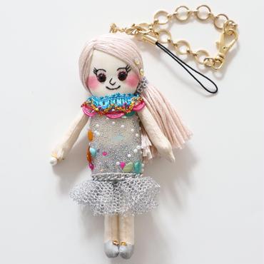 誕生石(6月パール)ドールチャーム/Berthstone Dolly Charm(June, Pearl)
