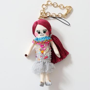 誕生石(1月ガーネット)ドールチャーム/Berthstone Dolly Charm(January, Garnet)