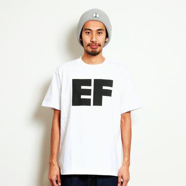 イーブンフロウ ブロック EF ロゴ Tシャツ #ホワイト