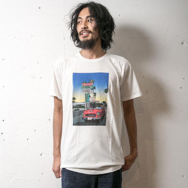 イーブンフロウ EIZIN SUZUKI×evenflow Tシャツ #TROPICAL DREAMIN'