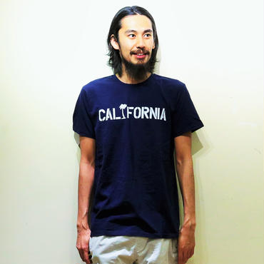 イーブンフロウ カリフォルニア ステンシル Tシャツ