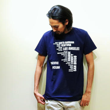 イーブンフロウ SO-CALマップ Tシャツ