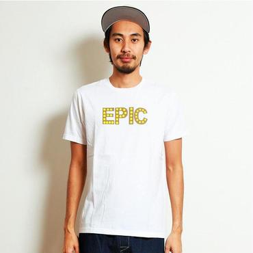 イーブンフロウ プライズ Tシャツ EPIC #ホワイト