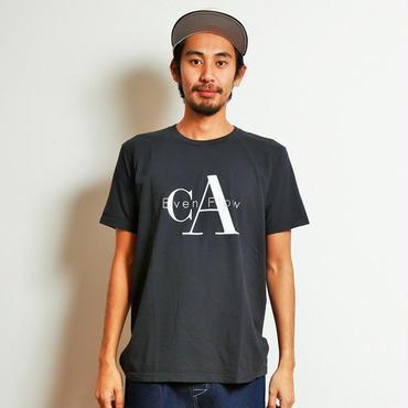 イーブンフロウ CA ロゴ Tシャツ #ブラック