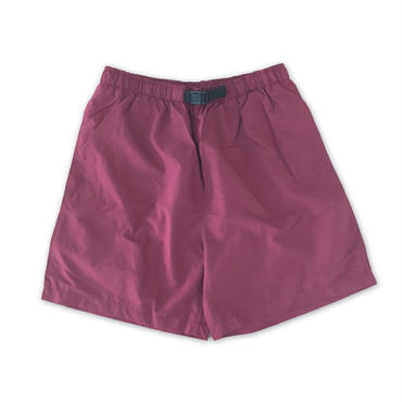 """COBRA CAPS"" BAGGY SHORTS(MAROON)"