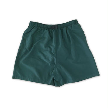 """COBRA CAPS"" NYLON BAGGY SHORTS (GREEN)"