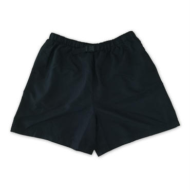 """COBRA CAPS"" NYLON BAGGY SHORTS(BLACK)"
