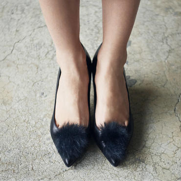 FAUX FUR FLAT BLACK