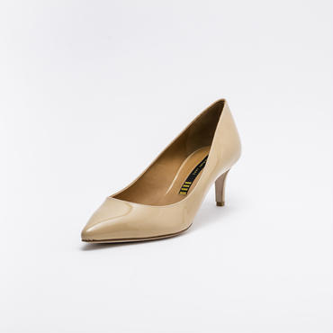 PATENT PUMPS BEIGE
