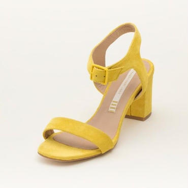 SUEDE SANDAL YELLOW