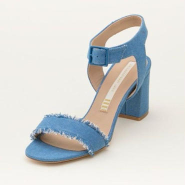 DENIM SANDAL FADE BLUE