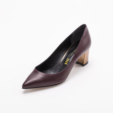 METALLIC HEEL PUMPS BORDEAUX