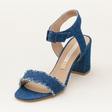 DENIM SANDAL INDIGO BLUE