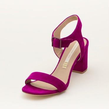 SUEDE SANDAL PURPLE