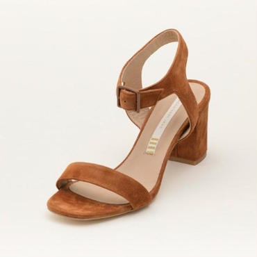 SUEDE SANDAL COCOA