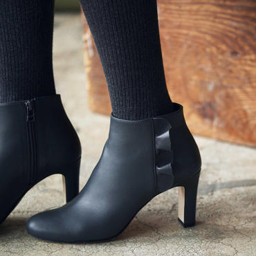 RAFFLED BOOTIES  GREY