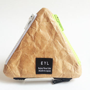 EYL triangle coin purse Tyvec