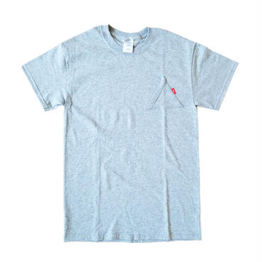 "EYL ""Triangle Pokcet"" S/S TEE Heather Gray"