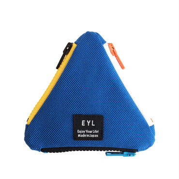 EYL triangle coin purse Blue