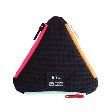 EYL triangle coin purse Black