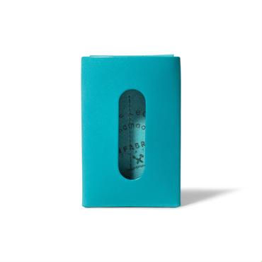 """用途や収納枚数で選べるカードケース""""5"""" CARD CASE 5 / FABRIK TURQUOISE"""