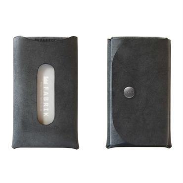 カードも入るキーケース    KEY CASE & CARD / BLACK