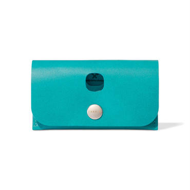 3WAY MINI WALLET / FABRIK TURQUOISE