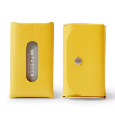 カードも入るキーケース    KEY CASE & CARD / YELLOW