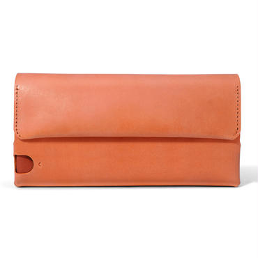 多彩な長財布 LONG WALLET:P / BRICK RED