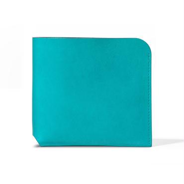 コインケースが取り外せる財布 BI-FOLD WALLET & COIN CASE / FABRIK TURQUOISE