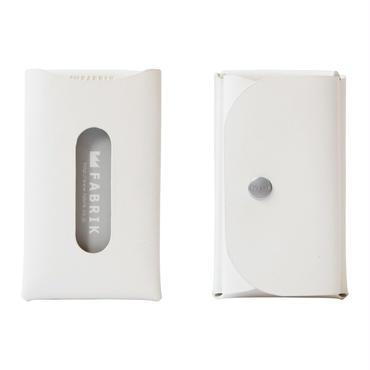 カードも入るキーケース    KEY CASE & CARD / WHITE