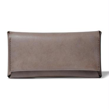 コンパクト設計の長財布    LONG WALLET / CHOCOLATE