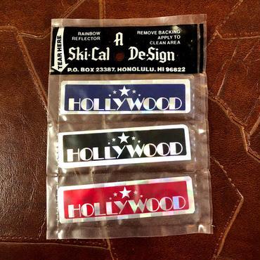 HOLLYWOOD ハリウッド ステッカー 1970'S-80's