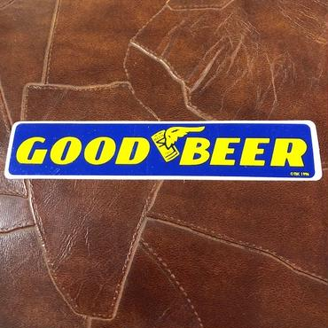 GOOD BEER ステッカー ©THC 1996