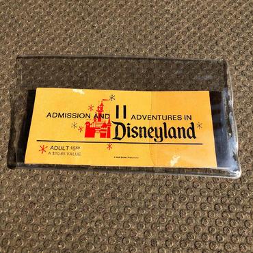 1960's ディズニーランド チケットブック クーポン