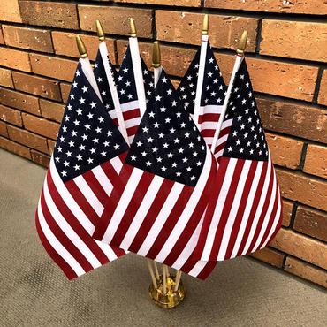 アメリカ 国旗 手旗 made in USA