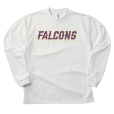 FALCONS LONG T-Shirt WHITE