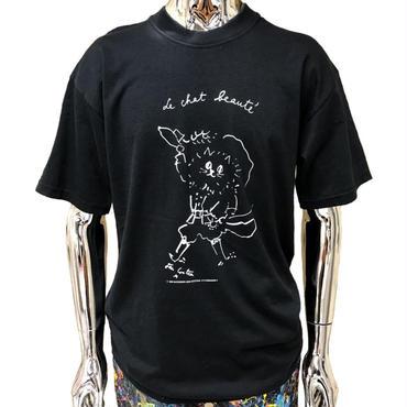 Jean Cocteau ‹‹ Le Chat Beauté ››  Tシャツ