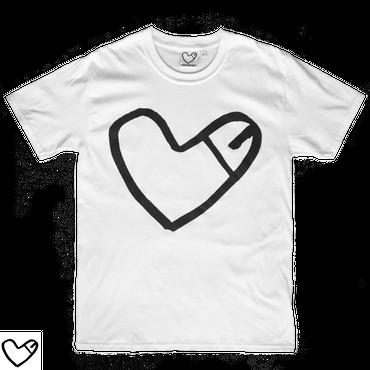 COCKHEART  Tシャツ/ホワイト