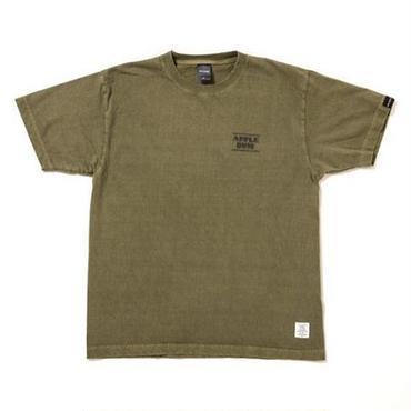 "APPLEBUM  ""Chalk Logo"" Pigment T-shirt [Olive]"