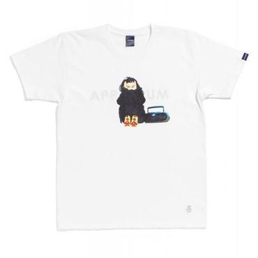 "APPLEBUM ""PUMP"" T-shirt (White)"