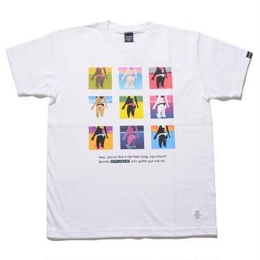 """""""APPLEBUM"""" T-shirt [White]"""