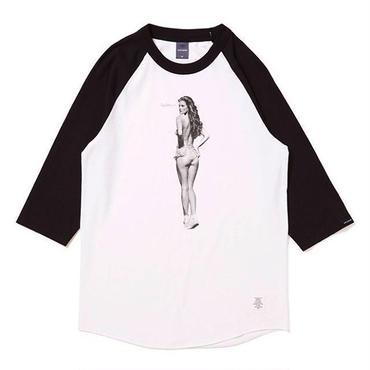 applebum Nice Applebum Raglan 3/4 Sleeve T-shirt