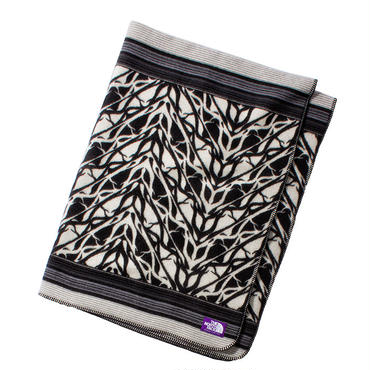 THE NORTH FACE PURPLE LABEL Wool Cotton Jaquard Blanket Large